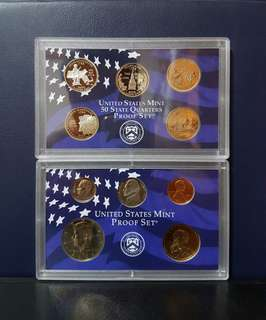 🇺🇸 2000 USA Proof Coin Set (10pcs Set)