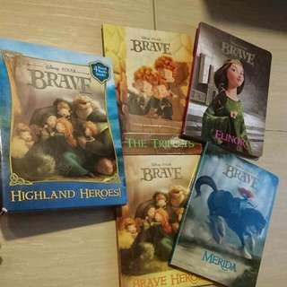 Disney Brave 4 Board Books Set. Highland Heroes Pixar