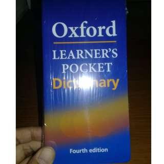Oxford dictionary pocket