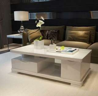 Glossy Center Table Home Furniture