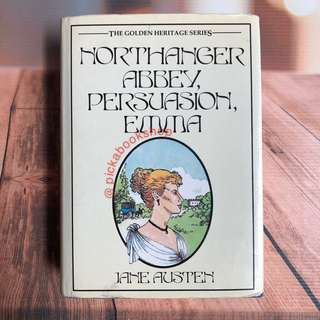 [RARE BOOK] Northanger Abbey - Persuasion - Emma - Jane Austen - Preloved