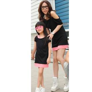 Mother and daughter clothes