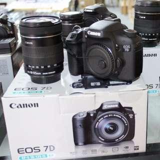 KAMERA Canon EOS 7D- Kit EF-S 18-135mm IS STM