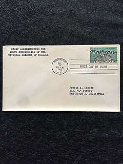 US 1963 Science FDC Stamp