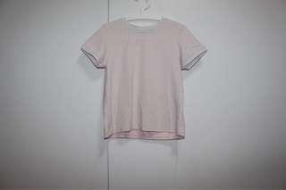 White & Pink top