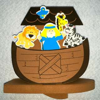 Floating Noah's Ark Craft Kit