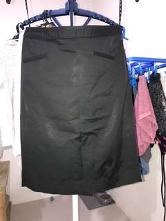 SABA ladies black work skirt