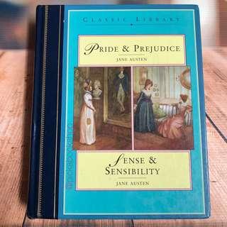[RARE BOOK] Pride and Prejudice - Sense and Sensibility - Jane Austen - Preloved