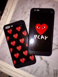 COMMES DES GARÇON PLAY CDG IPHONE 7&8 PHONE CASE COVER