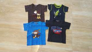 Preloved baby shirts 1 to 2 years P100 each only