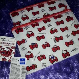 Hellokitty ribbon pouch