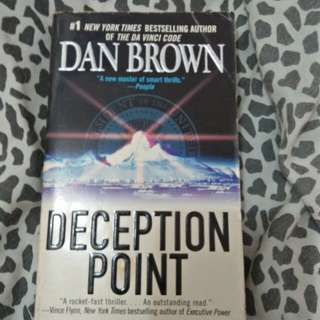 Dan Brown Deception Point #bookbazaar