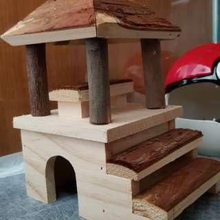 Hamster Wooden house