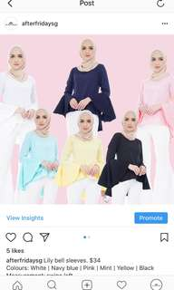 PREORDER-Lily bell Sleeves