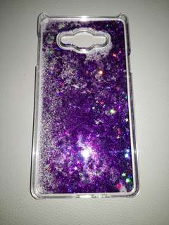 Glitter case for samsung A7