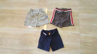 Preloved baby shorts - 6 mos to 1 year