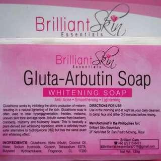 Gluta-Arbutin soap