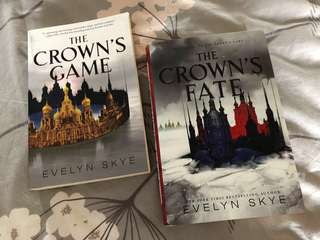 The Crown's Game + The Crown's Fate by Evelyn Skye
