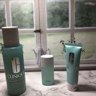 Clinique blemish solution