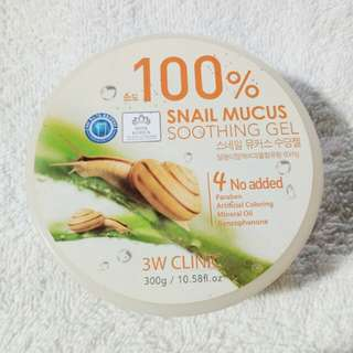100% Snail Mucus Soothing gel