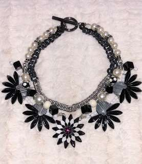 MIMCO flowers necklace