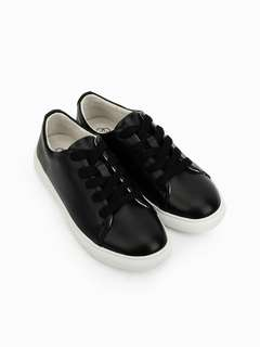 """Authentic CLN """"Chuckie"""" Leather Slip-ons"""
