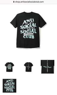 *CONFIRMED* ASSC x neighbourhood tee anti social social club