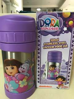 Dora Thermos Food Jar with spoon/Flask!