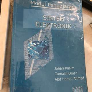 Utm electrical and electronic text book