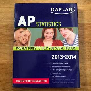 Kaplan's AP Statistics Exam Prep Guidebook (2013)