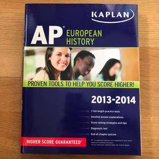 Kaplan's AP European History Exam Prep Guidebook (2013)