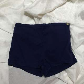 FOREVER 21 navy blue shorts