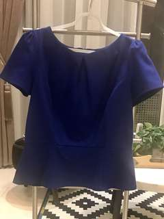Oasis Peplum Top