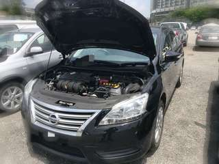 Nissan Sylphy 1.8 E CVT Tahun 2014