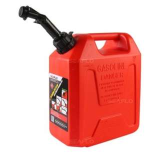 Auto Shut Off Gasoline Can Red Gas Fuel 2t Tank