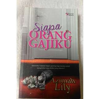 Malay Novel Book (Siapa jadi Gajiku)