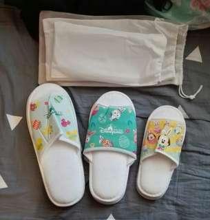 Disneyland Hotel Easter slippers