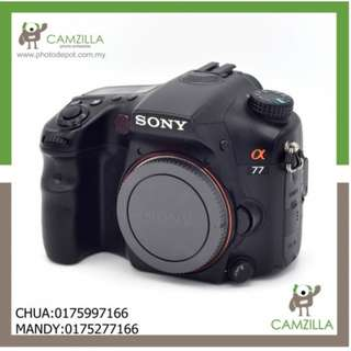 USED SONY A 77 BODY