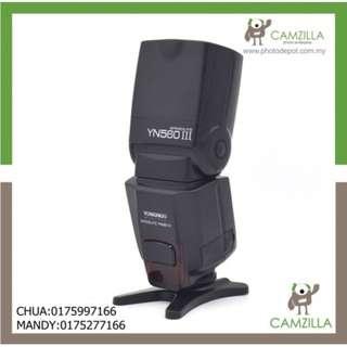 USED YONGNUO SPEEDLITE YN560 III