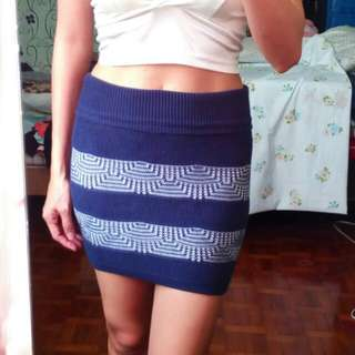 2pcs knitted Skirt