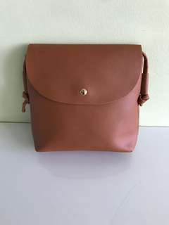 Brand New Faux Leather Sling Bag