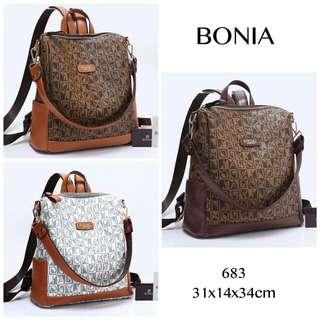 BONIA Multy Fungsi Backpack 683#A592*