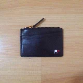 BNWOT Maison Kitsune Leather Card Holder