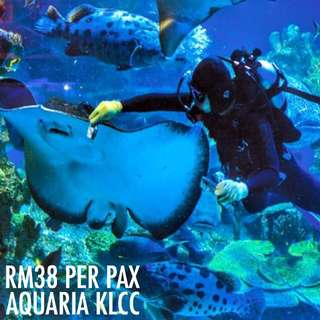 AQUARIA KLCC ADMISSION TICKET