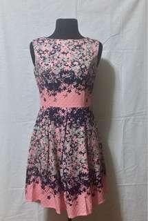 PD&Co. pink floral dress