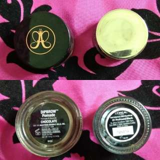 Brow Pomade and Gel Liner