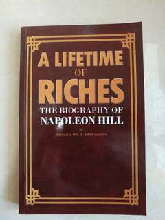 (NEW_RM10 off) A lifetime of riches (Biography of Napolean Hill) by Michael J.Ritt, Jr. & Kirk Landers