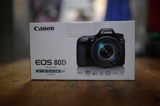 Canon Eos 80d 3months old