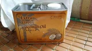 1.5L冷壓初榨椰子油 天然 斯里蘭卡 coconut oil