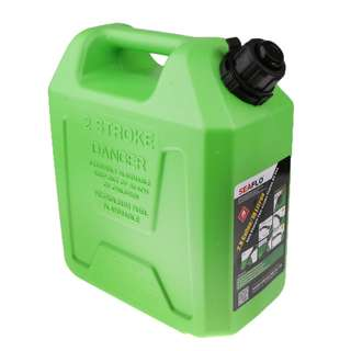 Auto Shut Off Gasoline Can Red Gas Fuel 2t Tank 10L